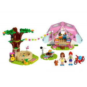 Lego Friends Nature Glamping - Sale