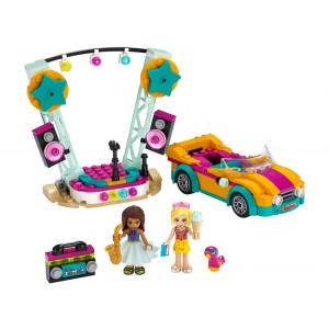 Lego Friends Andrea's Car & Stage - Sale