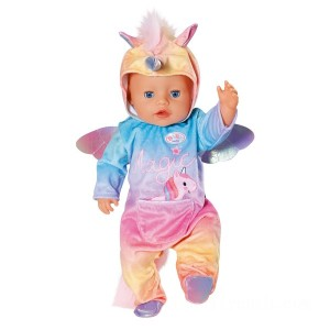 BABY born Unicorn Onesie Outfit V2 43cm - Sale