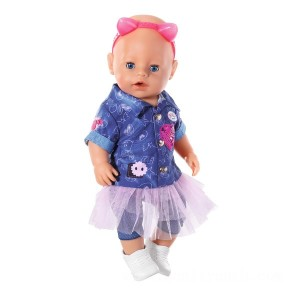 BABY born Deluxe Jeans Dress Set 43cm - Sale