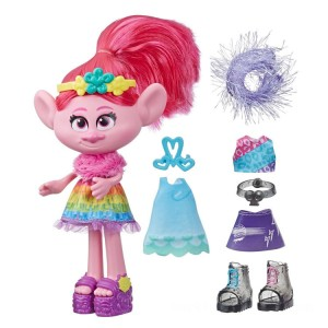 DreamWorks Trolls World Tour Fashion Celebration Poppy - Sale