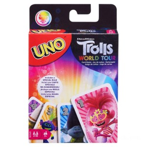 DreamWorks Trolls World Tour UNO Card Game - Sale