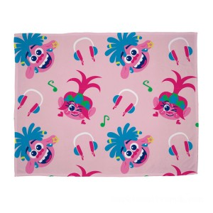 Trolls Fleece Blanket - Sale