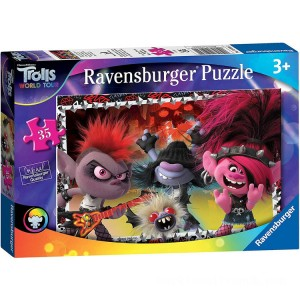 Ravensburger DreamWorks Trolls World Tour Puzzle - 35pcs. - Sale