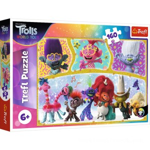 Trefl DreamWorks Trolls World Tour Puzzle - 160pcs. - Sale