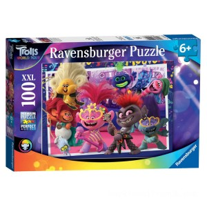 Ravensburger DreamWorks Trolls World Tour XXL Puzzle - 100pcs. - Sale