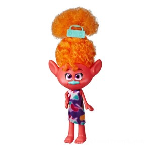 DreamWorks Trolls World Tour Stylin' Doll - DJ Suki - Sale
