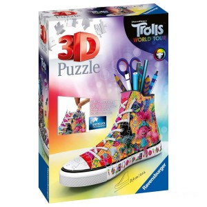 Ravensburger DreamWorks Trolls World Tour Sneakers 3D Puzzle - 108pcs. - Sale