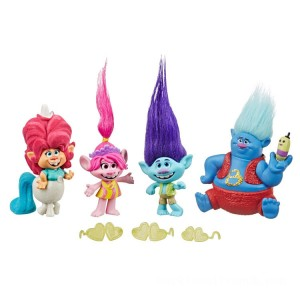 DreamWorks Trolls World Tour Lonesome Flats Tour Figure Pack - Sale
