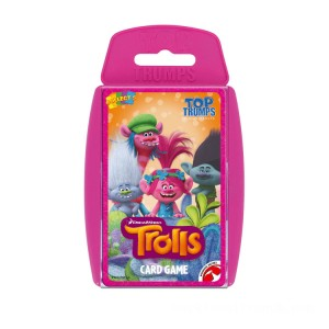 Top Trumps - DreamWorks Trolls - Sale