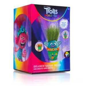 DreamWorks Trolls World Tour Decorate and Grow Branch Grass Head - Sale