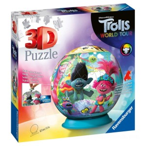 Ravensburger DreamWorks Trolls World Tour 3D Puzzle - 72pcs. - Sale