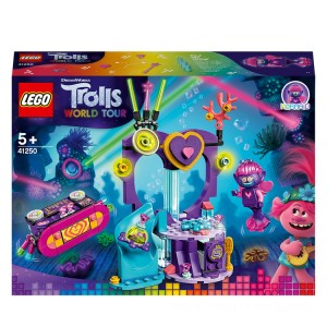 LEGO DreamWorks Trolls World Tour Techno Reef Dance Party - 41250 - Sale