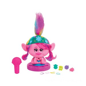 DreamWorks Trolls World Tour Poppy Styling Head - Sale