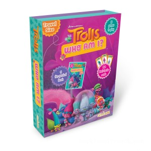 Trolls Who Am I? Fun-Pack Book - Sale