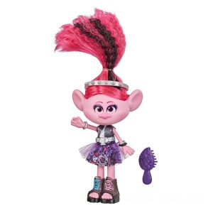 Dreamworks Trolls Work Tour - Glam Rockin Poppy - Sale