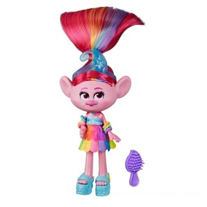 Dreamworks Trolls Work Tour - Glam Poppy - Sale