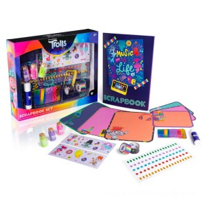 DreamWorks Trolls World Tour Scrapbook Set (Styles Vary) - Sale