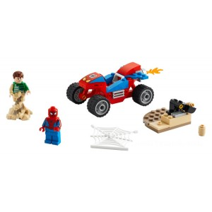 Lego Spider-Man Spider-Man and Sandman Showdown - Sale