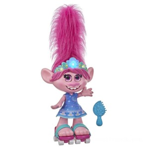 Dreamworks Trolls Work Tour - Dancing Hair Poppy - Sale