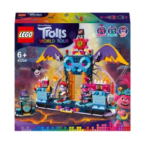 LEGO DreamWorks Trolls World Tour Volcano Rock City Concert - 41254 - Sale