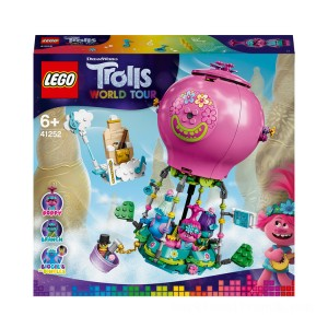 LEGO DreamWorks Trolls World Tour Poppy's Hot Air Balloon Adventure - 41252 - Sale