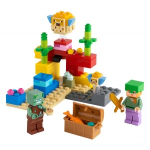 Lego Minecraft™ The Coral Reef - Sale