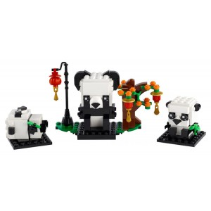Lego BrickHeadz Chinese New Year Pandas - Sale
