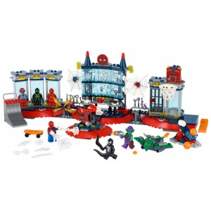 Lego Spider-Man Attack on the Spider Lair - Sale