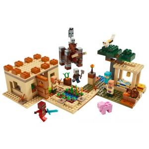Lego Minecraft™ The Illager Raid - Sale