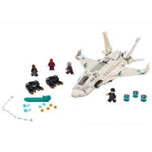 Lego Spider-Man Stark Jet and the Drone Attack - Sale
