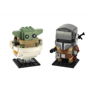 Lego BrickHeadz The Mandalorian™ & the Child - Sale