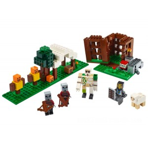 Lego Minecraft™ The Pillager Outpost - Sale