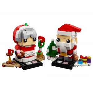 Lego BrickHeadz Mr. & Mrs. Claus - Sale