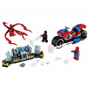 Lego Spider-Man Spider-Man Bike Rescue - Sale