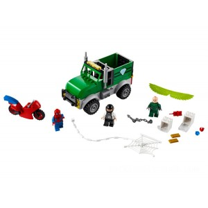 Lego Spider-Man Vulture's Trucker Robbery - Sale