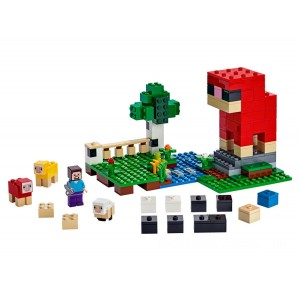 Lego Minecraft™ The Wool Farm - Sale