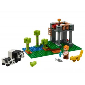 Lego Minecraft™ The Panda Nursery - Sale