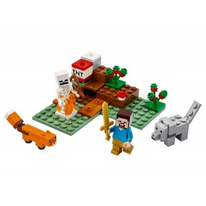 Lego Minecraft™ The Taiga Adventure - Sale