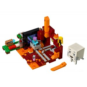 Lego Minecraft™ The Nether Portal - Sale