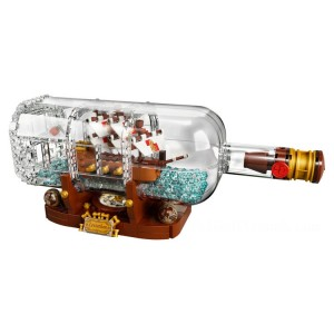 Lego Ideas Ship in a Bottle - Sale