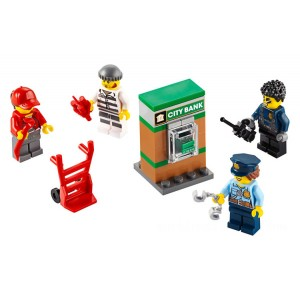 Lego Minifigures Police MF Accessory Set - Sale