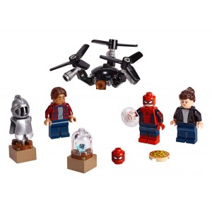 Lego Minifigures Spider-Man and the Museum Break-In - Sale