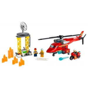 Lego City Fire Rescue Helicopter - Sale