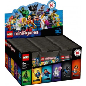Lego Minifigures DC Super Heroes Series Complete Box - Sale