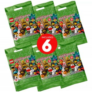 Lego Minifigures Series 21 – 6 Pack - Sale
