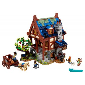 Lego Ideas Medieval Blacksmith - Sale