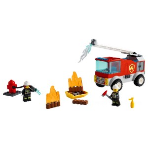 Lego City Fire Ladder Truck - Sale