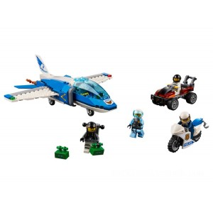 Lego City Sky Police Parachute Arrest - Sale