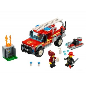 Lego City Fire Chief Response Truck - Sale